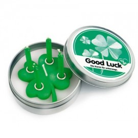 "Kaars Blikje ""Good Luck"""