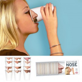"Bekertjes ""Pick your nose"""