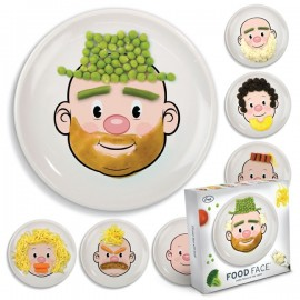 Plate mr Food Face
