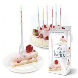 "Cake Candles ""Light Bites"""