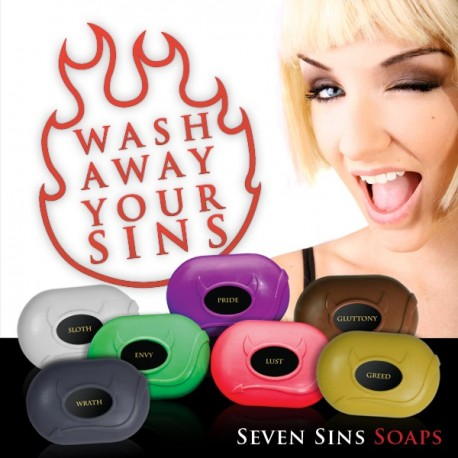 "Soap ""Wash Away your Sins"""