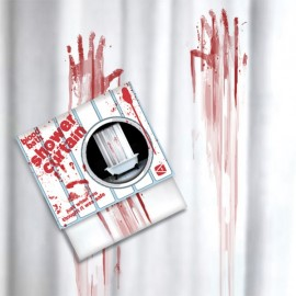 "Shower Curtain ""Blood Bath"""