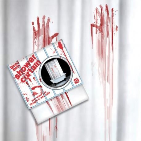 "Douche Gordijn ""Blood Bath"""