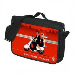"""Laptop case """"On the Town"""""""