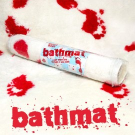 "Bath Mat ""Blood Bath"""