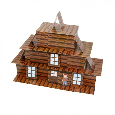 """House of Cards """"LOG CABIN"""""""