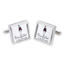 "Cufflinks Model ""GRANDFATHER OF THE BRIDE"""