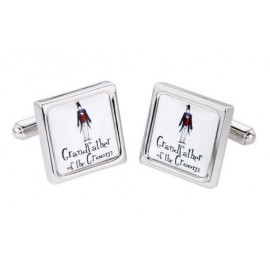 "Cufflinks Model ""GRANDFATHER OF THE GROOM"""