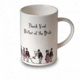 """Mug """"Thank you! Mother of the Bride"""""""
