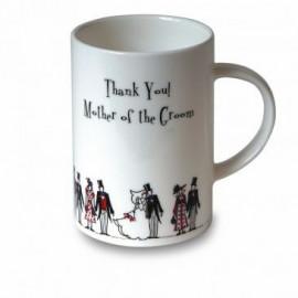 """Mug """"Thank you! Mother of the Groom"""""""
