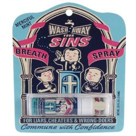 "Breathspray ""Wash away Your Sins"""