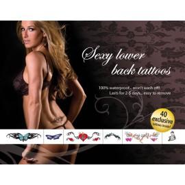 "Tattoo Set ""Sexy Lower Back"""