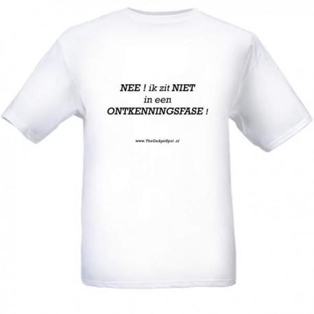 "T-Shirt  ""Ontkenningsfase"""