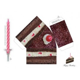 "Wenskaart ""Birthday Cake"""