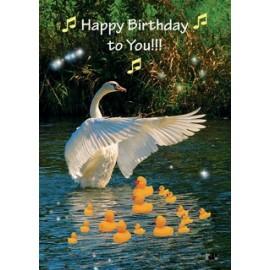 "Wenskaart ""Happy Birthday to You"""