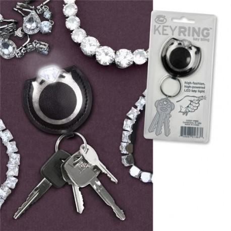 Diamant Schlüsselring