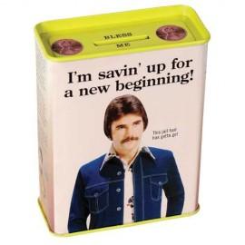 "Money Box ""Savin' Up for a New Beginning"""