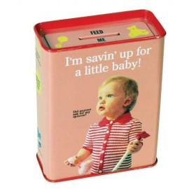 "Money Box ""Savin' Up for a Little Baby"""