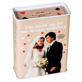 "Money Box ""Savin' Up for My Dream Wedding"""