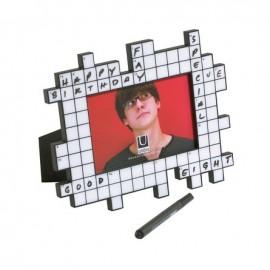 "Photoframe 'Crossword"""
