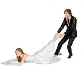 Weddingcake Topper ´Reluctant Bride´