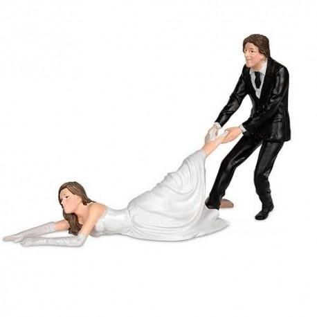 Weddingcake Topper ´Reluctant Bride´