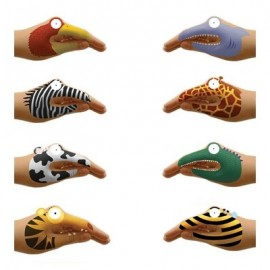 Hand Tattoos 'Animals'