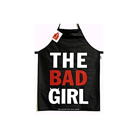 """Keukenschort """"The Bad Girl"""""""