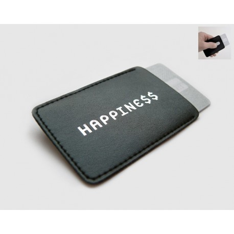 Creditcard hoesje Happine$$