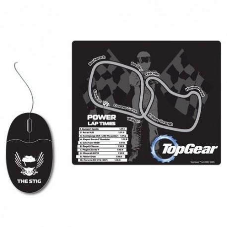 Top Gear Mouse & Racetrack Mat Set
