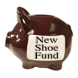 StoneWitWords Piggy Bank ´Shoe Fund´