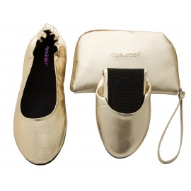 Foldable shoes 'Gold'
