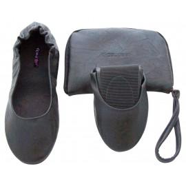Faltbare Schuhe 'Black´