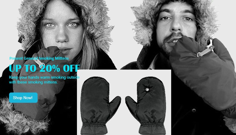 mittens for smokers